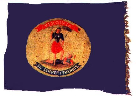 Battle Flag of the 51st  Virginia Infantry